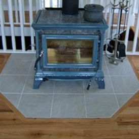 Gas Stove Hearth Pad Protection
