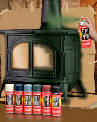Stove Bright High Temperature Paint Stoves Fireplaces Friendly Firesfriendly Fires