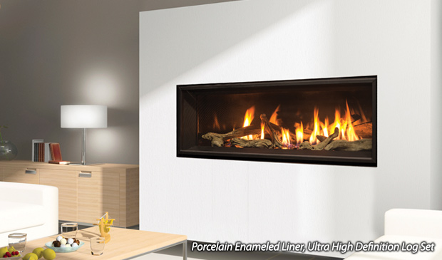 fireplaces room linear stone contemporary york new photo living stacked fireplace