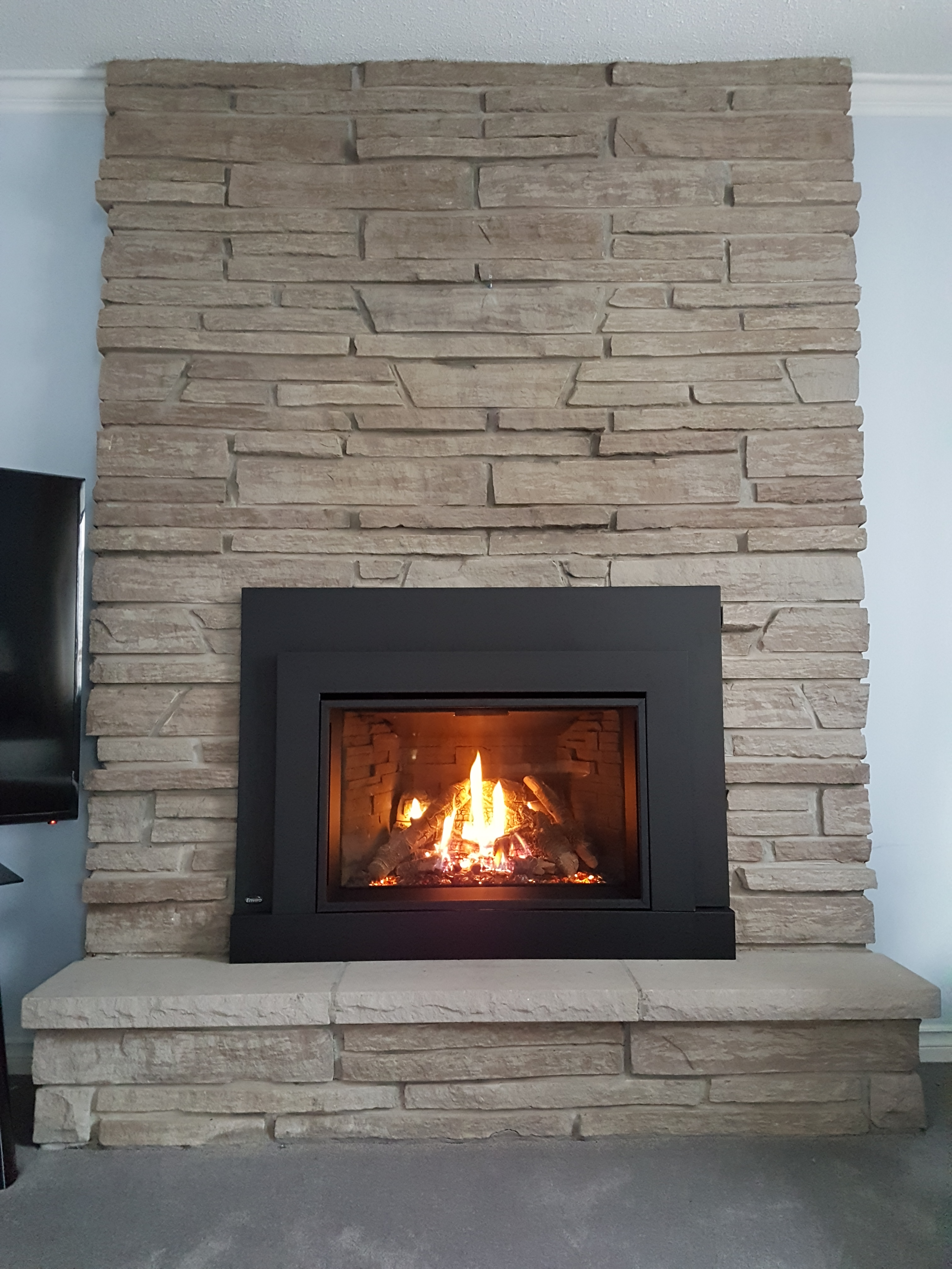 Enviro Ex35 Gas Fireplace Insert Friendly Firesfriendly