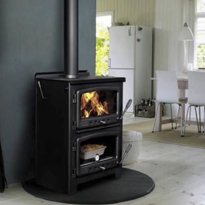 Model 550 Baker's Oven by Nectre Wood Cook Stoves | Friendly Fires