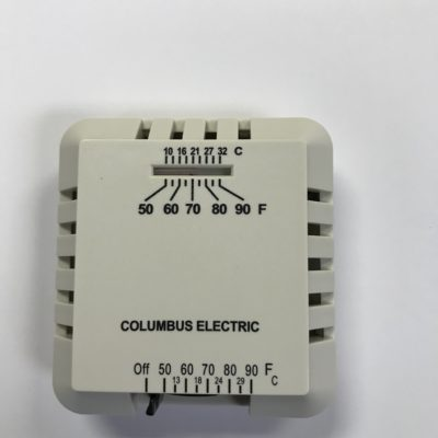 Columbus manual wired thermostat | Friendly Fires