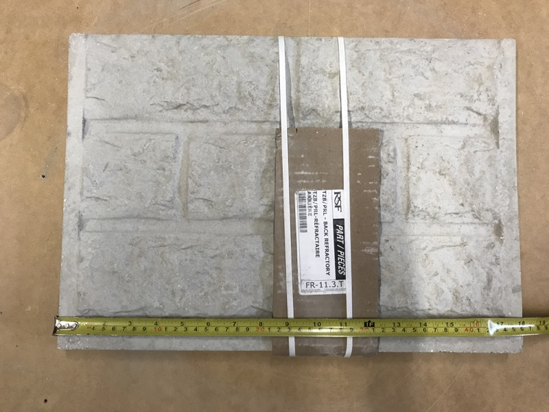 Rsf Replacement Brick Back Topaz Friendly